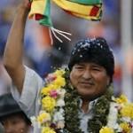 Partita di calcio a 5500 metri s.l.m per Evo Morales