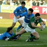 Sonora sconfitta dell'Italia nel match con l'Irlanda