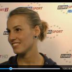 Tania Cagnotto intervistata da Eurosport
