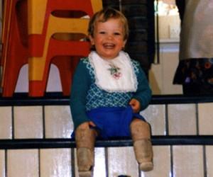 Oscar Pistorius bambino